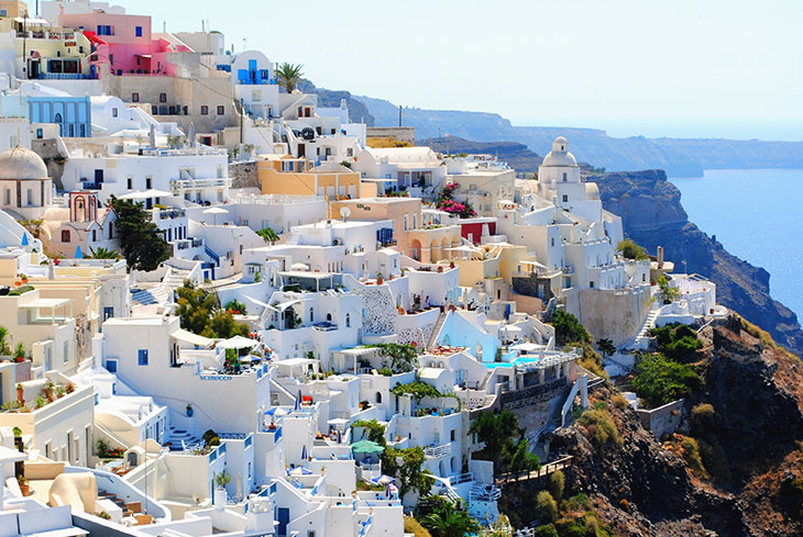 10 most instagrammable places on earth - Greece