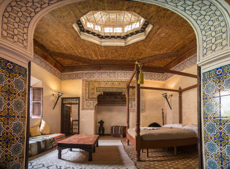 A cosy palace in Marrakech, Morocco