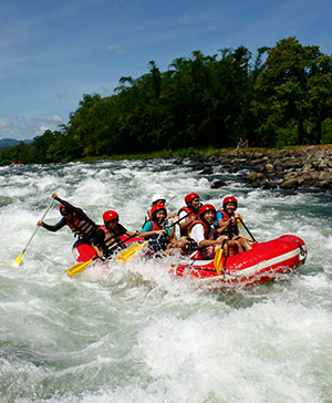 Asia thrill rafting