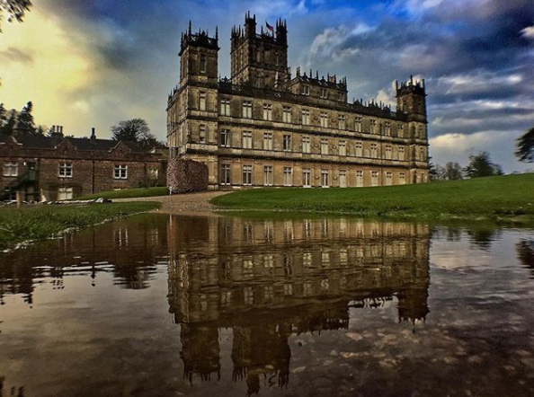 North Hampshire, UK - Downton Abbey
